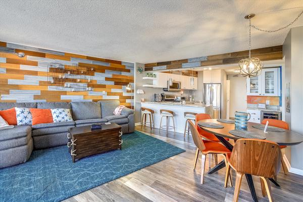 An updated condo in Ocean City, MD