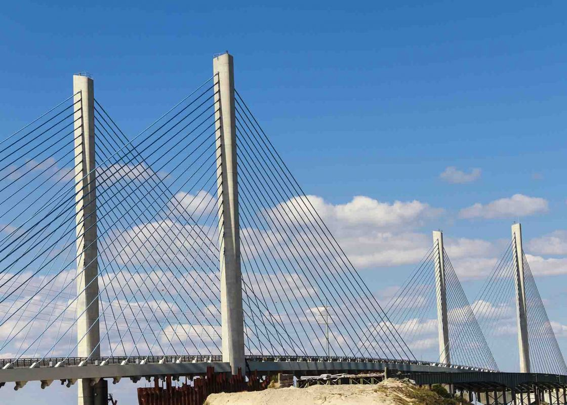 Indian River Inlet Bridge in Bethany Beach
