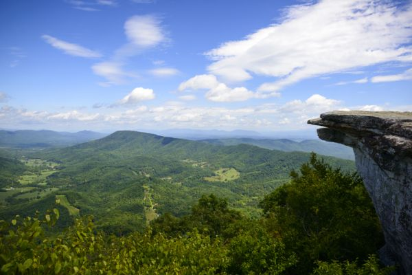 McAfee Knob in Virginia